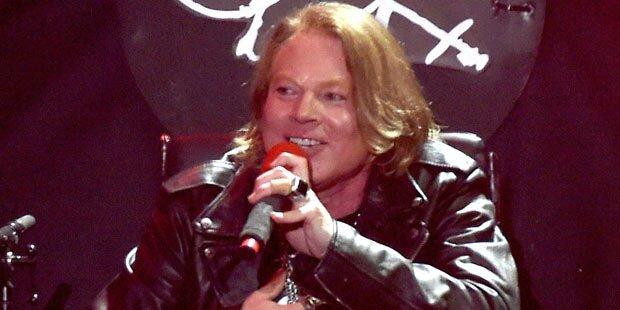 AC/DC setzt Tournee mit Axl Rose fort