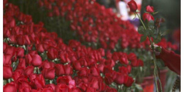 Ehefrau klagte von Ehemann 124.000 Rosen ein