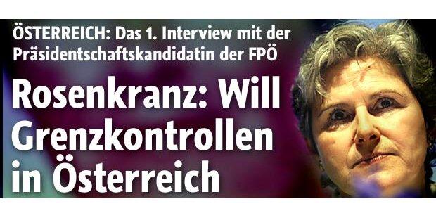Rosenkranz tritt bei Hofburg-Wahl an