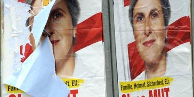 Vorarlberger zündet Rosenkranz-Plakat an
