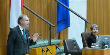 Rosenkranz liefert Bericht zu U-Ausschuss