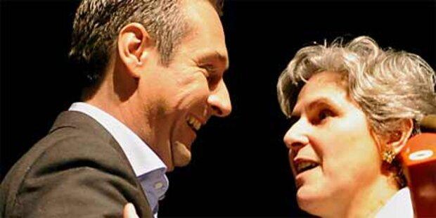Strache: Rosenkranz muss siegen