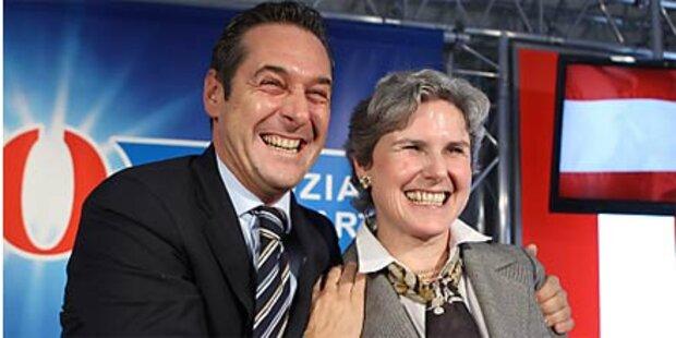 FPÖ nominiert Rosenkranz als Kandidatin