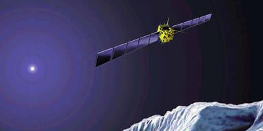 Sonde Rosetta schickt Kometen-Fotos