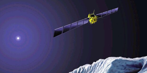 Austro-Sonde landet auf Komet