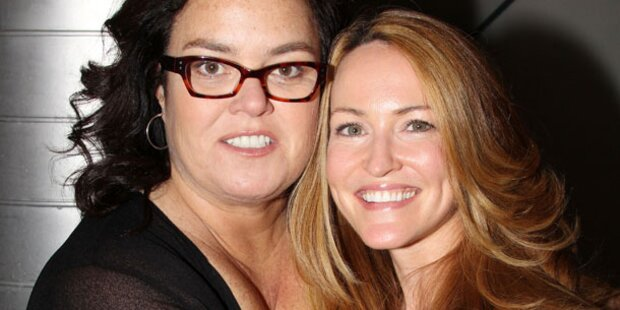 Rosie O'Donnell heiratet ihre Freundin