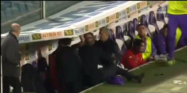 Fiorentina-Coach Rossi prügelt Spieler: gefeuert