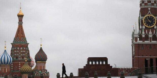 Terror-Angst: Moskau schließt Roten Platz