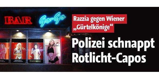 Razzia gegen Wiener