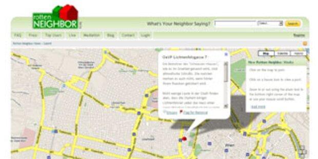 Website prangert die schlimmsten Nachbarn an