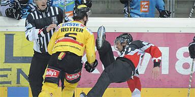Rotter geht auf Referee los