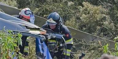 Hubschrauber fiel wie Stein vom Himmel