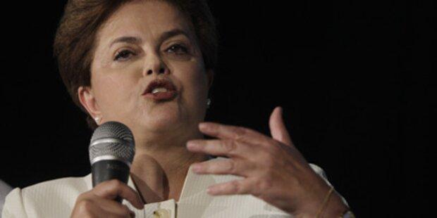 Mordaufrufe gegen Brasiliens Präsidentin