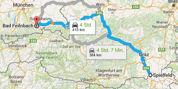 Terrorist reiste über Österreich