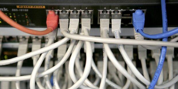 Datenverbrauch: Festnetz weit vor Mobilfunk