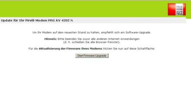 Router-Panne bei der Telekom Austria