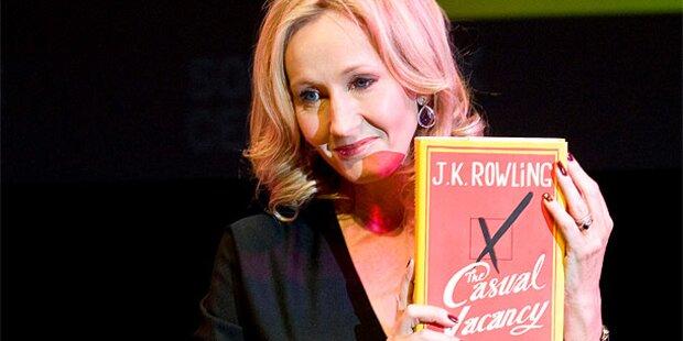 Hype um neuen Rowling-Roman