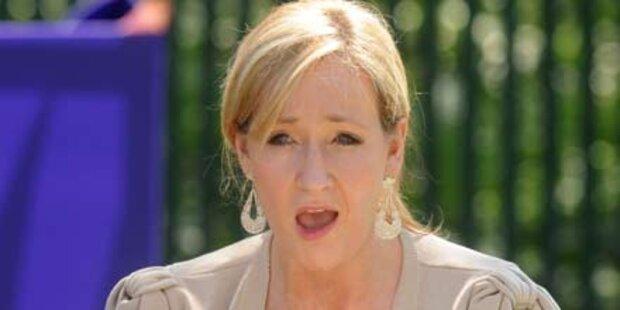 J.K. Rowling mischt sich in Wahlkampf ein