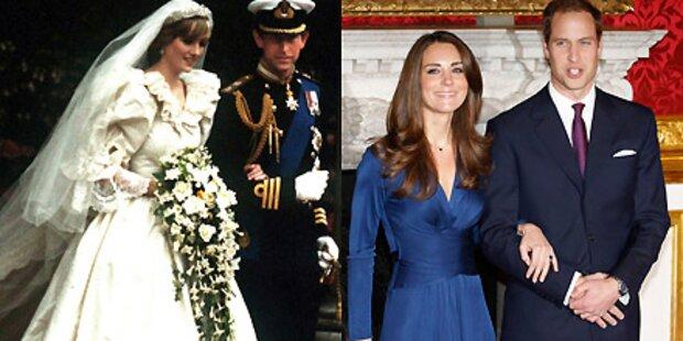 Kate soll Lady Di's Brautkleid tragen