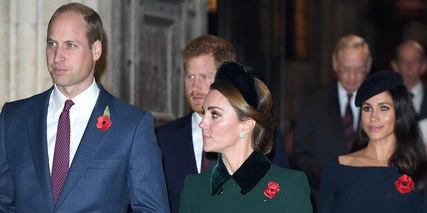 Harry und Meghan: Bruch mit Familie ist endgültig