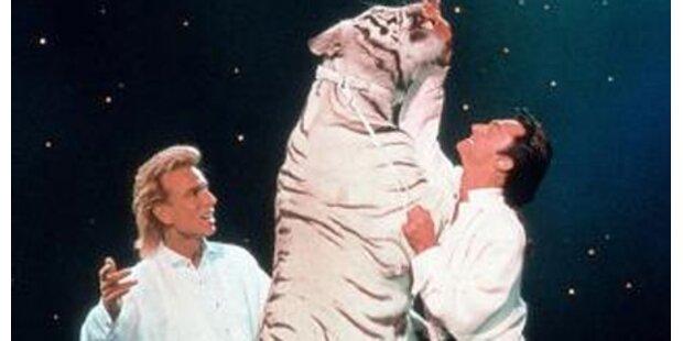 Siegfried und Roy gaben Abschieds-Gala