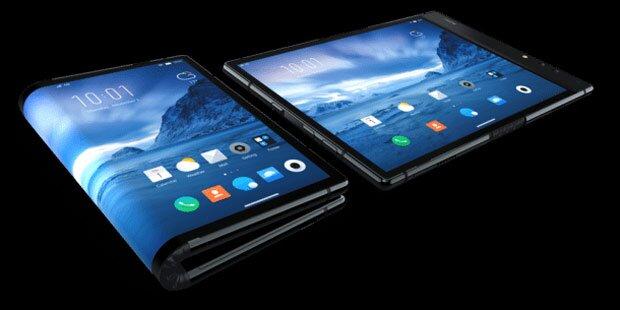 Erstes faltbares Smartphone startet