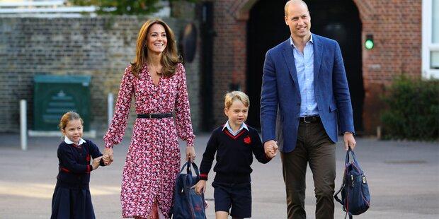 Erster Schultag von Prinzessin Charlotte