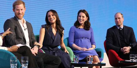 1. Royal-Doppeldate für Kate, Meg & Co.