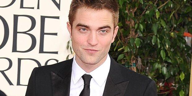 Pattinson knutscht mit Unbekannter
