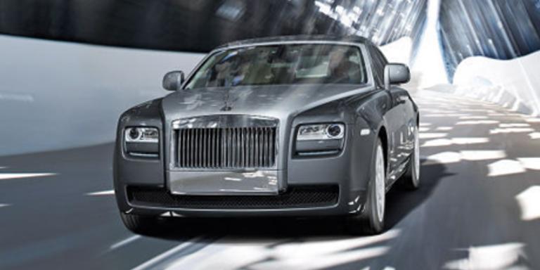 Rolls Royce Ghost auf der IAA