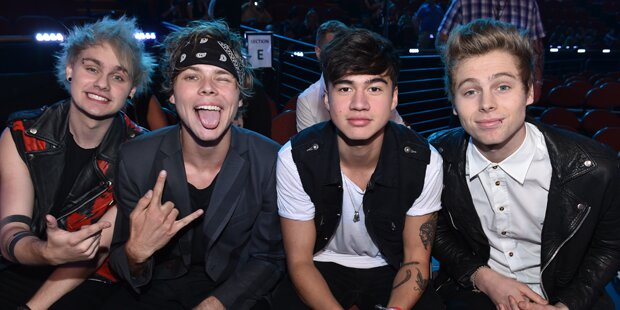 5 Seconds of Summer auf Europatour