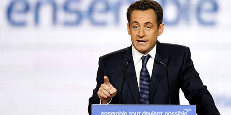 Sarkozy zum Präsidentschafts-Kandidaten gekürt