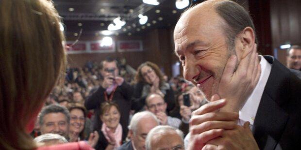 Spanien: Sozialisten- Chef tritt zurück