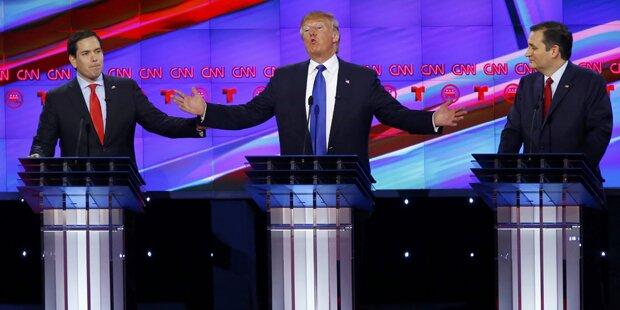 Scharfe Attacken von Rubio & Cruz auf Trump