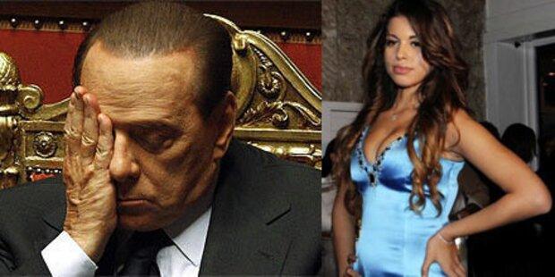 Sex-Affäre: Neue Erhebungen gegen Berlusconi