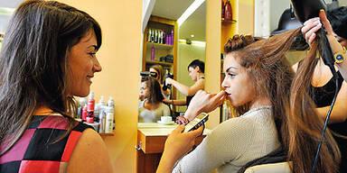Ruby Rubacuori - ÖSTERREICH-Interview beim Friseur