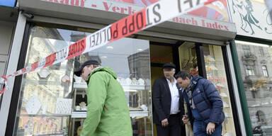 Überfall auf Juwelier in Rudolfsheim