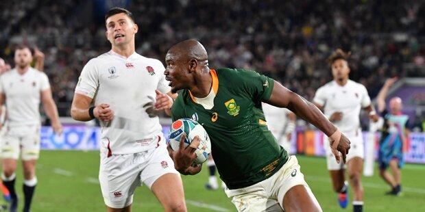 Südafrika gewinnt Rugby-WM