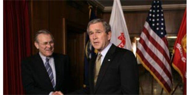 Rumsfeld weiß es: Bush klüger als vermutet