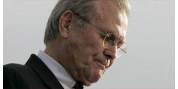 Erneuter Wirbel um Rumsfeld-Sager
