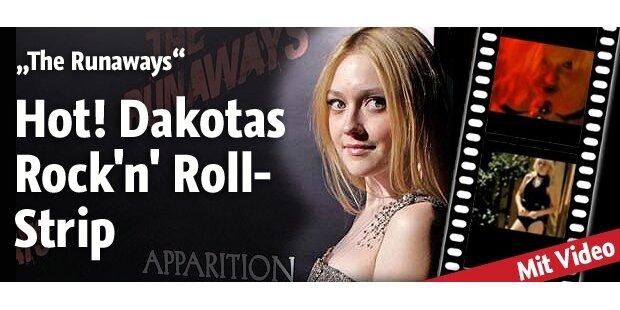 Runaways Das ist Dakotas heißer Auftritt