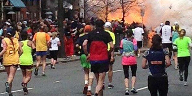 Boston: Marathonläufer filmte Anschlag
