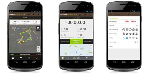 Neue Runtastic Bike-Apps im Test