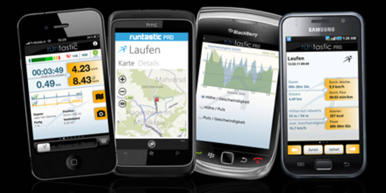 Erfolgs-App Runtastic 2.0 mit Live-Tracking