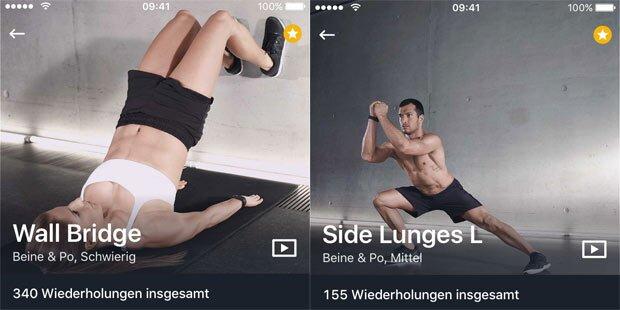 Update für Fitness-App Runtastic Results
