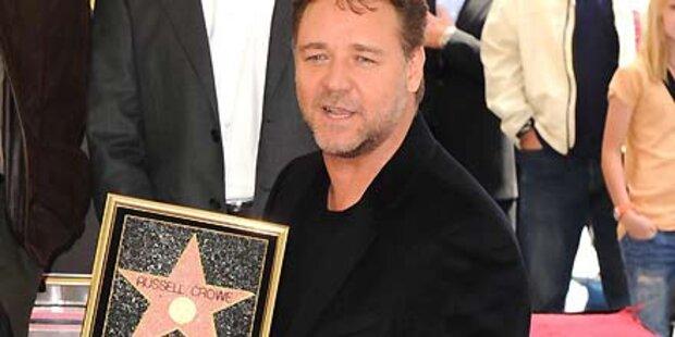 Russell Crowe bekommt seinen Stern