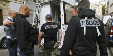 Russland Fan Polizei
