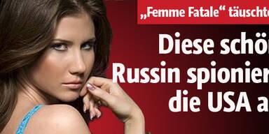 Schöne Russin spionierte USA aus