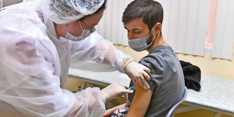 Russland startet Covid-Impfungen