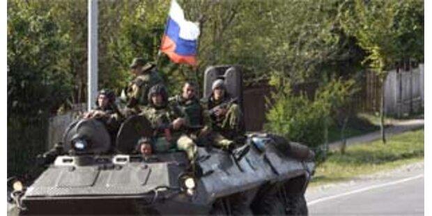 Russen ziehen aus Georgien ab
